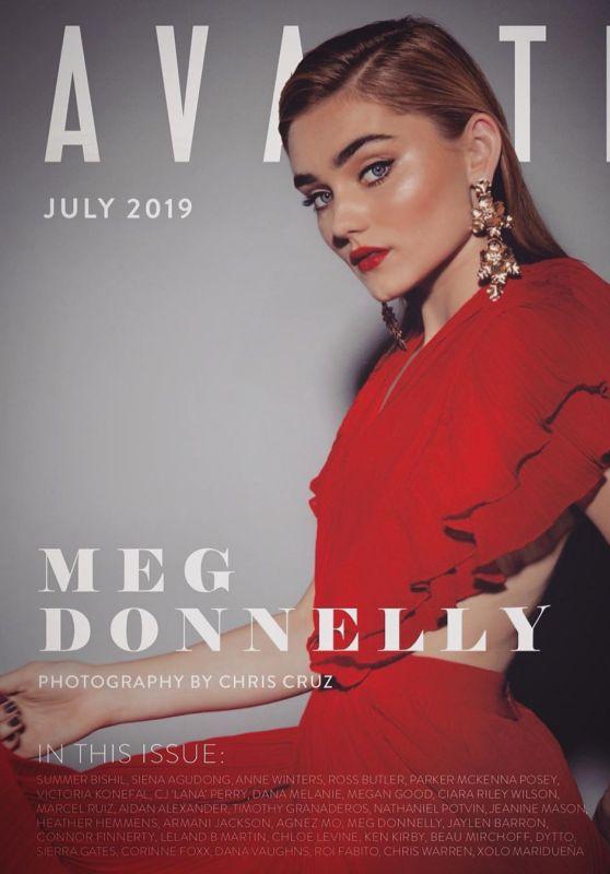 Meg Donnelly - Avante Magazine July 2019