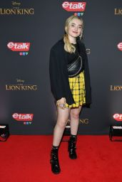 """Meg Donnelly - """"The Lion King"""" Premiere in Toronto"""
