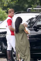 Meghan Markle and Prince Harry - King Power Royal Charity Polo Day at at Billingbear Polo Club 07/10/2019