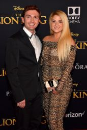 """Meghan Trainor – """"The Lion King"""" Premiere in Hollywood"""