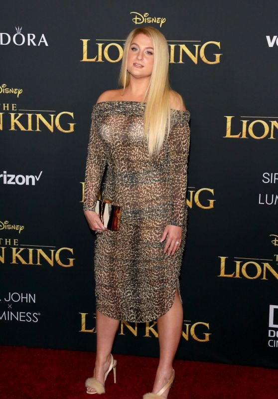 "Meghan Trainor – ""The Lion King"" Premiere in Hollywood"