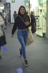 Michelle Renaud in Travel Outfit - Mexico City International Airport 07/19/2019