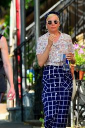 Michelle Williams Cute Style - Out in NYC 07/12/2019
