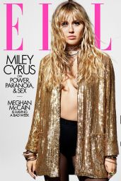 Miley Cyrus - ELLE Magazine August 2019
