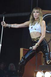 Miley Cyrus - Performs on the Pyramid - Glastonbury Festival 06/30/2019