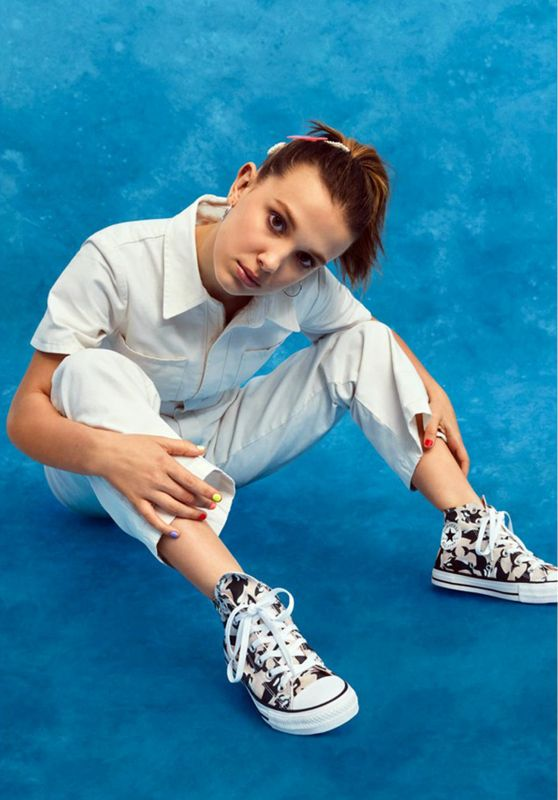 Millie Bobby Brown - Photoshoot for Converse 07/08/2019