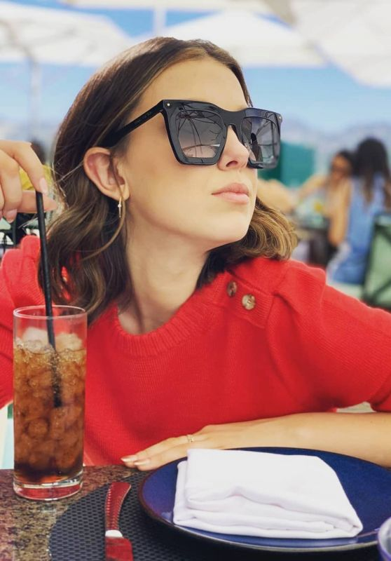 Millie Bobby Brown - Social Media 07/03/2019