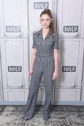 Natalia Dyer at BUILD Studio in NYC 07/15/2019