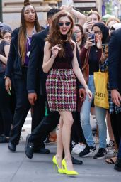 Natalia Dyer - Outside BUILD Series in NYC 07/15/2019
