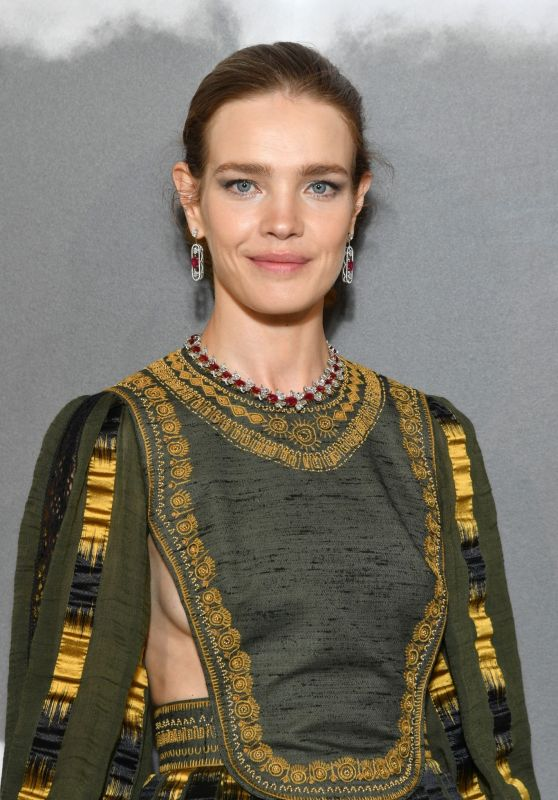 Natalia Vodianova – Christian Dior Haute Couture F/W 19/20 Show in Paris