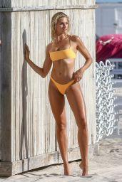 Natalie Jayne Roser in a Bikini at a Beach Miami Beach 07/11/2019