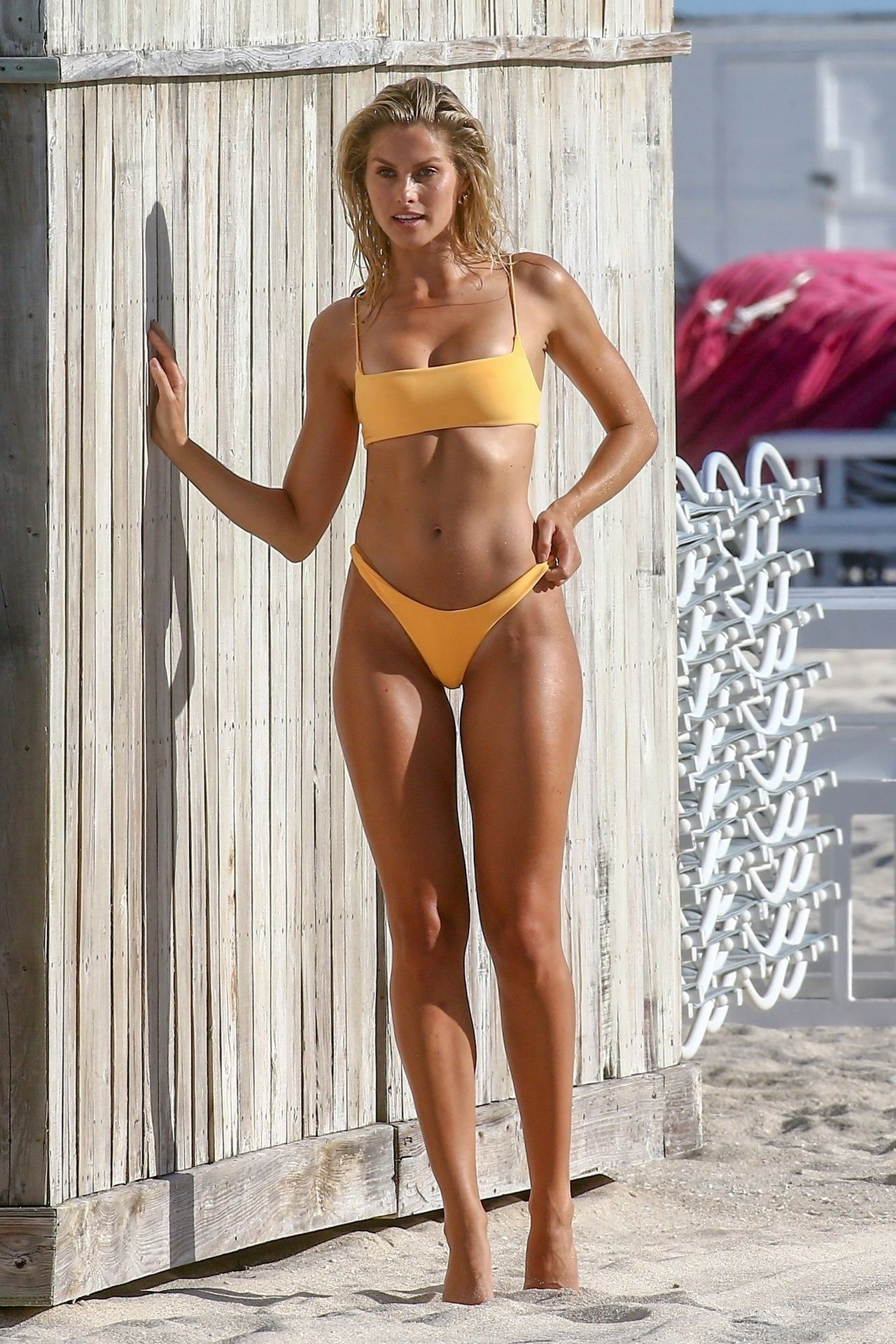 Natalie Jayne Roser in a Bikini at a Beach Miami Beach 07 ...