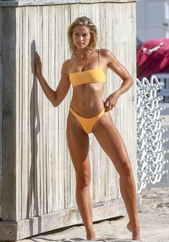 Natalie Jayne Roser in a Bikini at a Beach Miami Beach 07/11/2019