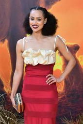 """Nathalie Emmanuel – """"The Lion King"""" Premiere in London"""