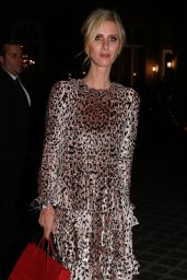 Nicky Hilton - Arriving at Valenino Haute Couture Fall/Winter 2019 2020 Show in Paris