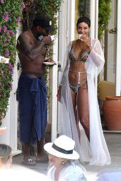 Nicole Murphy in a Bikini in Ischia 07/20/2019