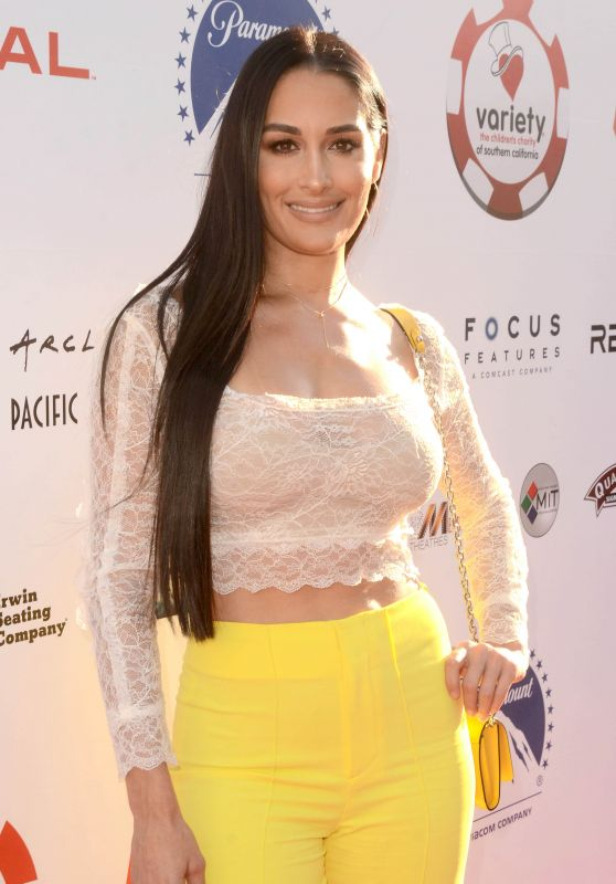 Nikki Bella – 2019 Variety Charity Poker & Casino Night in LA