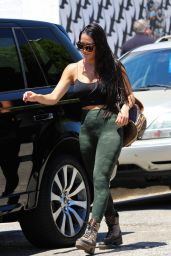 Nikki Bella in Tights - Shops in West Hollywood 07/27/2019