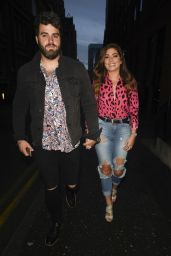 Nikki Sanderson Night Out Style - Manchester 07/27/2019
