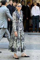 Olivia Palermo – Christian Dior Haute Couture F/W 19/20 Show in Paris