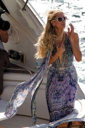 Paris Hilton on a Yacht - Mykonos 07/11/2019