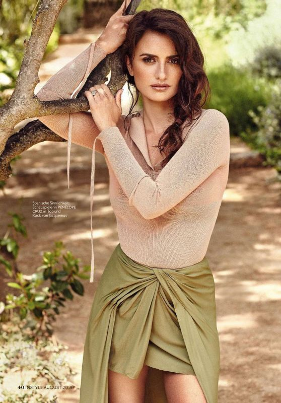 Penélope Cruz - Instyle Germany August 2019 Issue