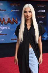 "Pia Mia Perez – ""Spider-Man: Far From Home"" Red Carpet in Hollywood"