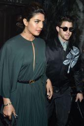Priyanka Chopra and Nick Jonas – Christian Dior Haute Couture F/W 19/20 Show in Paris