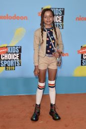 Quinne Daniels – Nickelodeon Kids' Choice Sports Awards 2019 in Santa Monica