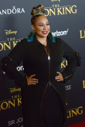 "Raven Symone – ""The Lion King"" Premiere in Hollywood"