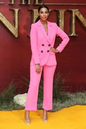 """Rochelle Humes – """"The Lion King"""" European Premiere in London"""