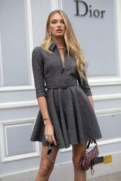Romee Strijd – Christian Dior Haute Couture F/W 19/20 Show in Paris