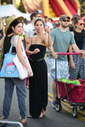 Roselyn Sanchez - Shopping at the Farmers Markert in Studio City 07/28/2019