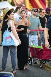 Roselyn Sanchez - Shopping at the Farmers Market in Studio City 07/28/2019