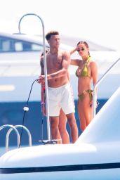 Ruby Mae in a Bikini on a Yacht in Saint Tropez 07/07/2019