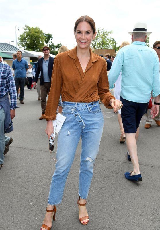 Ruth Wilson at Wimbledon in London 07/08/2019