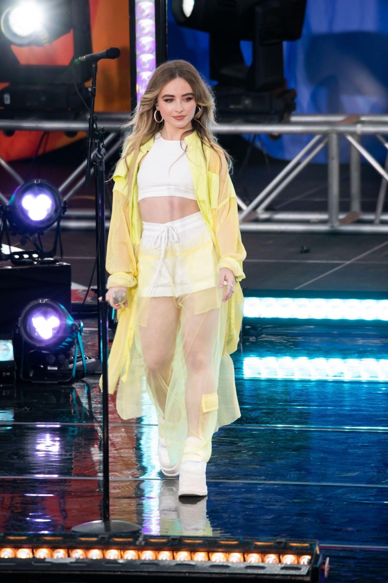 Sabrina Carpenter - GMA Summer Concert Series in NYC 07/05