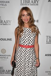 Samia Longchambon - The Library Curated by Assouline Launch in Manchester 07/04/2019