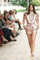 Sara Sampaio - Walks Redemption Haute Couture Fall/Winter 2019 2020 Show in Paris