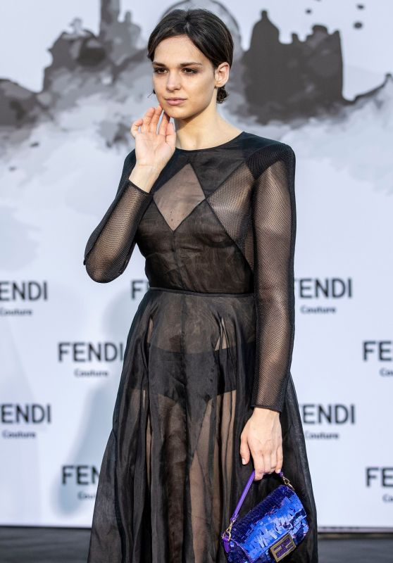 Sara Serraiocco – Fendi Show in Rome 07/04/2019