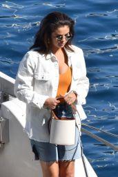 Selena Gomez in Casual Outfit - Amalfi Coast in Italy 07/24/2019