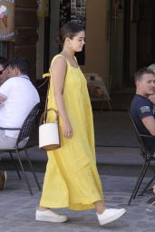 Selena Gomez - Out in Civita di Bagnoregio 07/24/2019