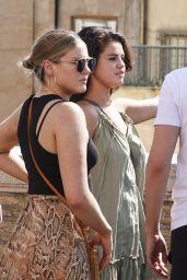 Selena Gomez Summer Street Style - Rome 07/22/2019