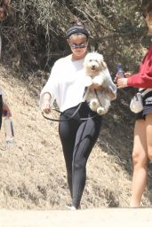 Selena Gomez - Takes New Puppy for a Hike in Los Angeles 07/06/2019