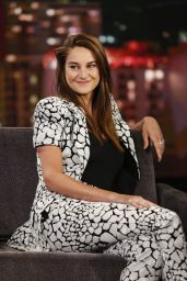 "Shailene Woodley - ""Jimmy Kimmel Live"" in Hollywood 07/15/2019"