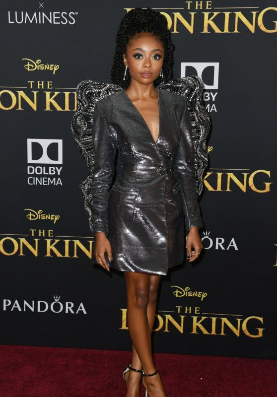 "Skai Jackson – ""The Lion King"" Premiere in Hollywood"