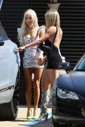 Sofia Richie and Pia Mia Perez at Nobu in Malibu 07/01/2019