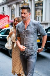 Sofia Vergara and Joe Manganiello - Outside Avra Restaurant in New York 07/17/2019
