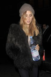 Suki Waterhouse - Leaving a Vogue Magazine Photoshoot in London 07/21/2019