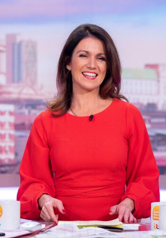 "Susanna Reid - ""Good Morning Britain"" TV Show in London 07/03/2019"